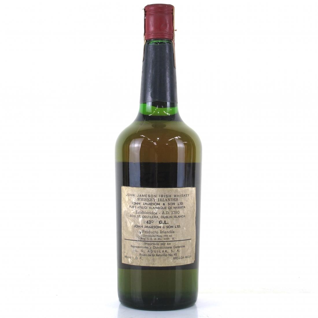 Jameson Irish Whiskey 1970s / Mexican Import