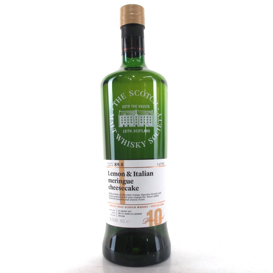 Tomintoul 2007 SMWS 10 Year Old 89.8