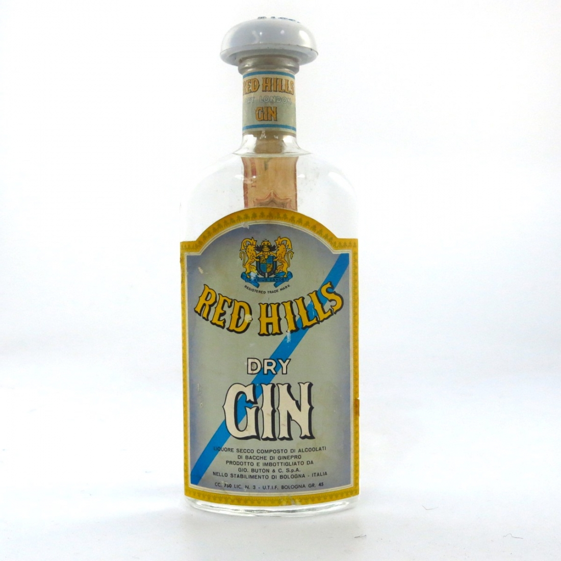 Red Hill's Dry London Gin
