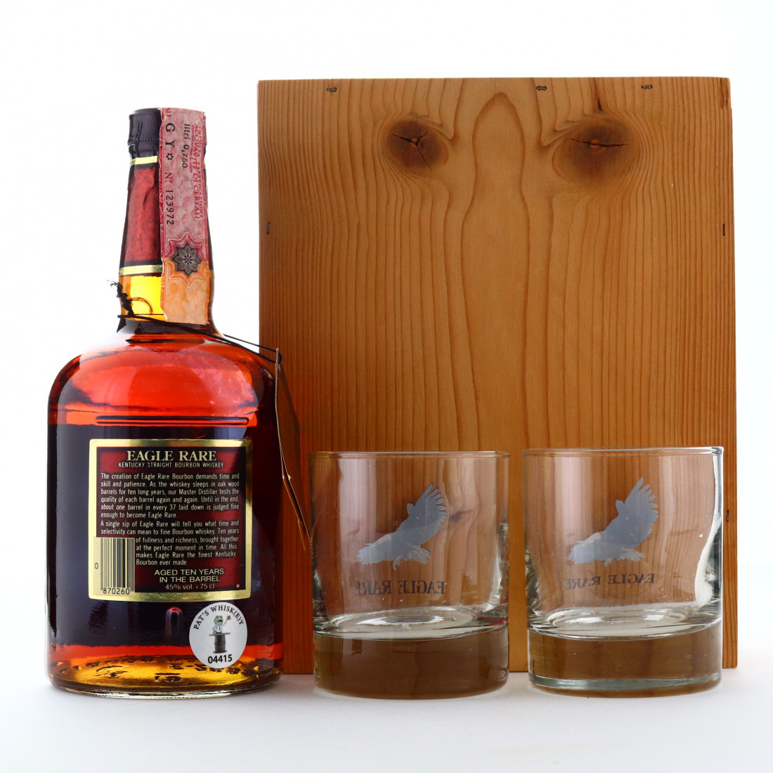 Eagle Rare 10 Year Old 90 Proof 1983 Gift Pack