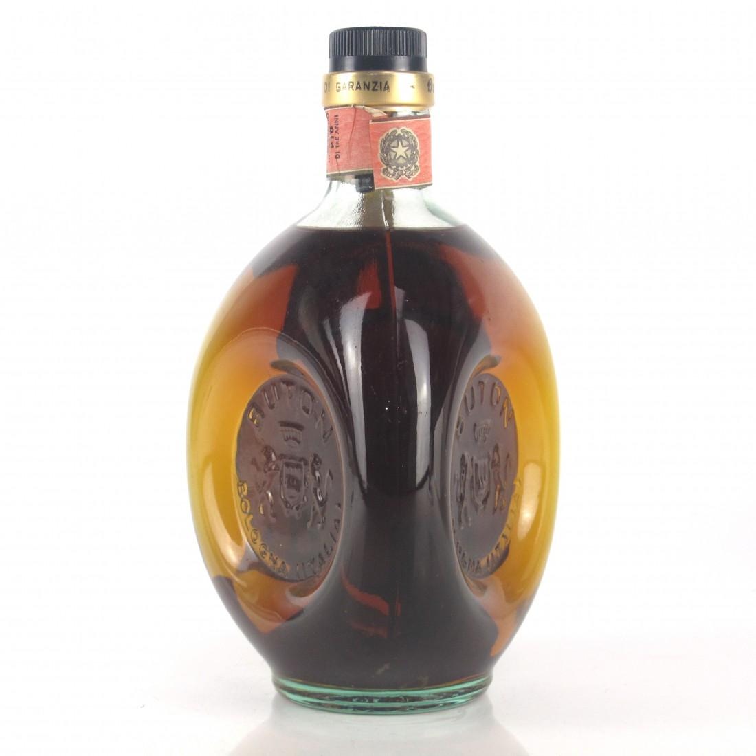 Buton Vecchia Romagna Etichetta Nera Brandy 1970s