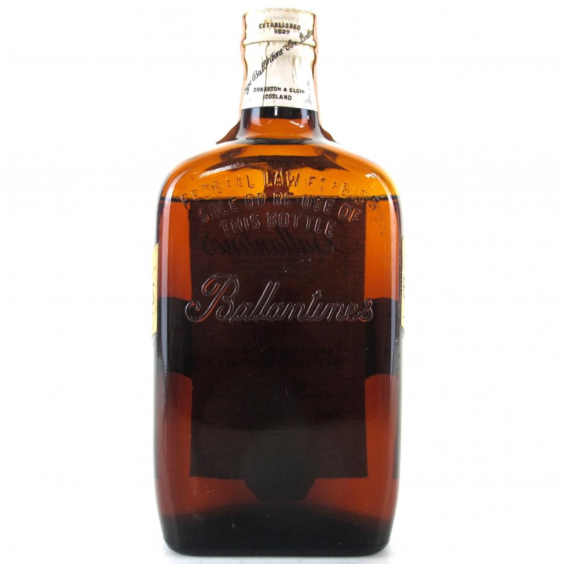 Ballantine's Liqueur Scotch 1960s / US Import