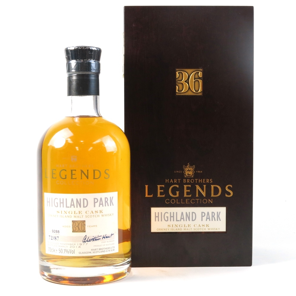 Highland Park 1977 Hart Brothers 36 Year Old