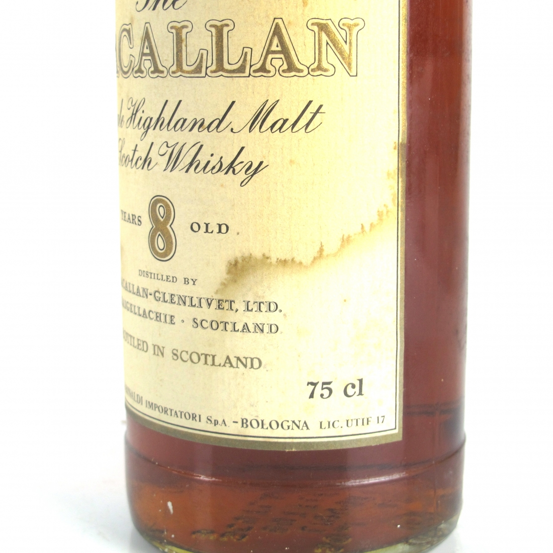 Macallan 8 Year Old 1980s / Rinaldi Import