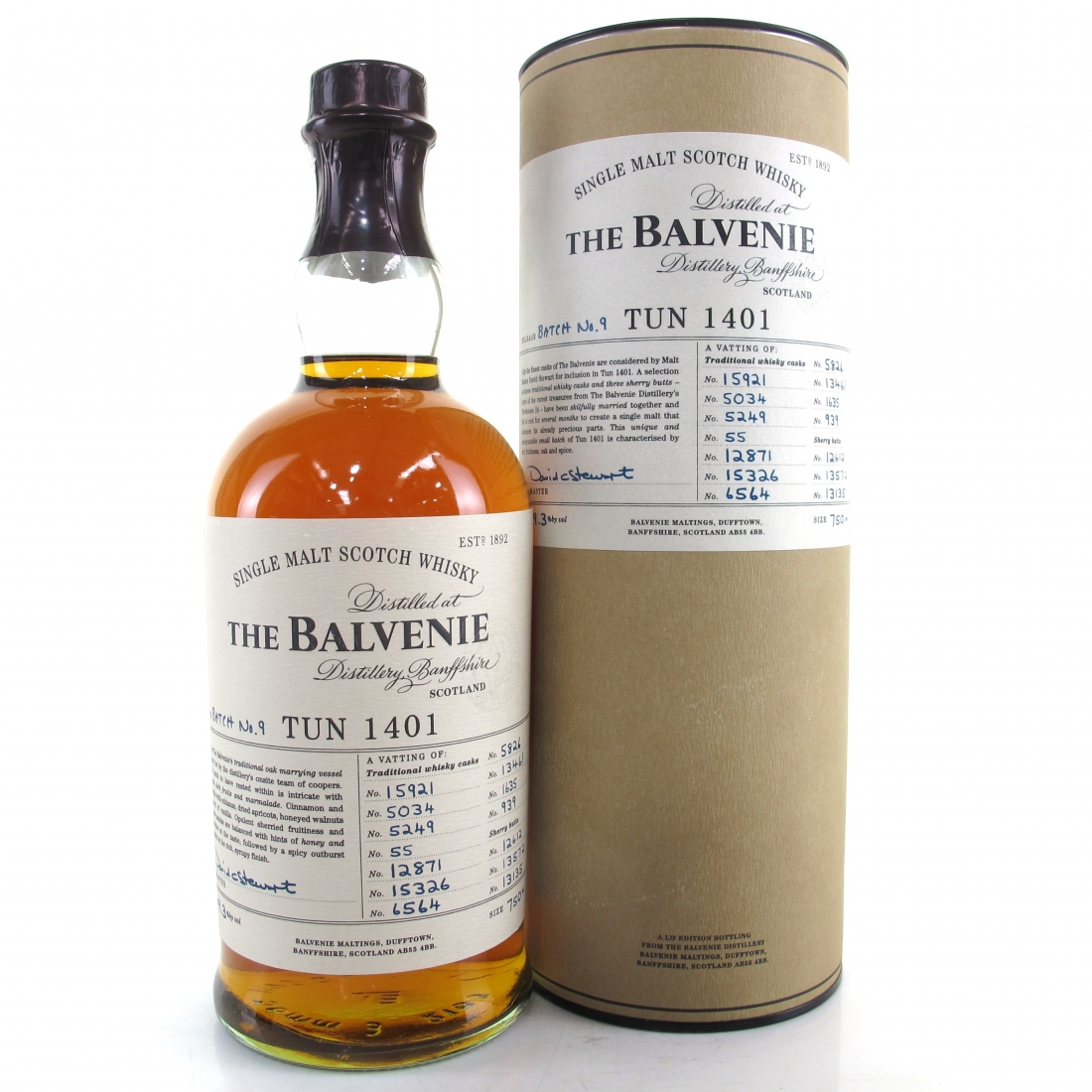 Balvenie Tun 1401 Batch #9 75cl / US Exclusive