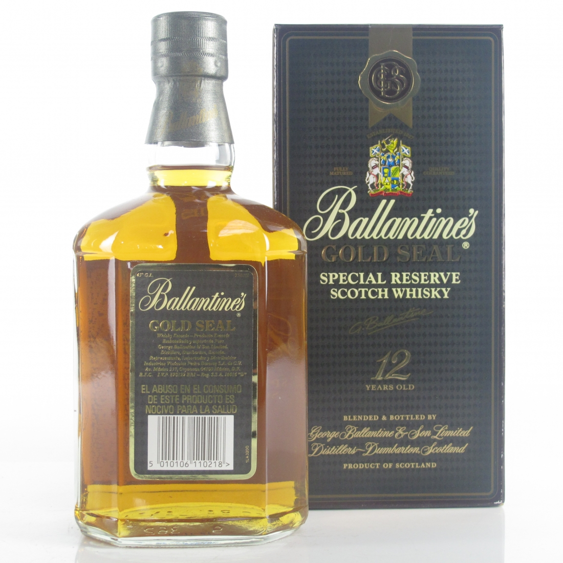 Ballantine's 12 Year Old 1980s