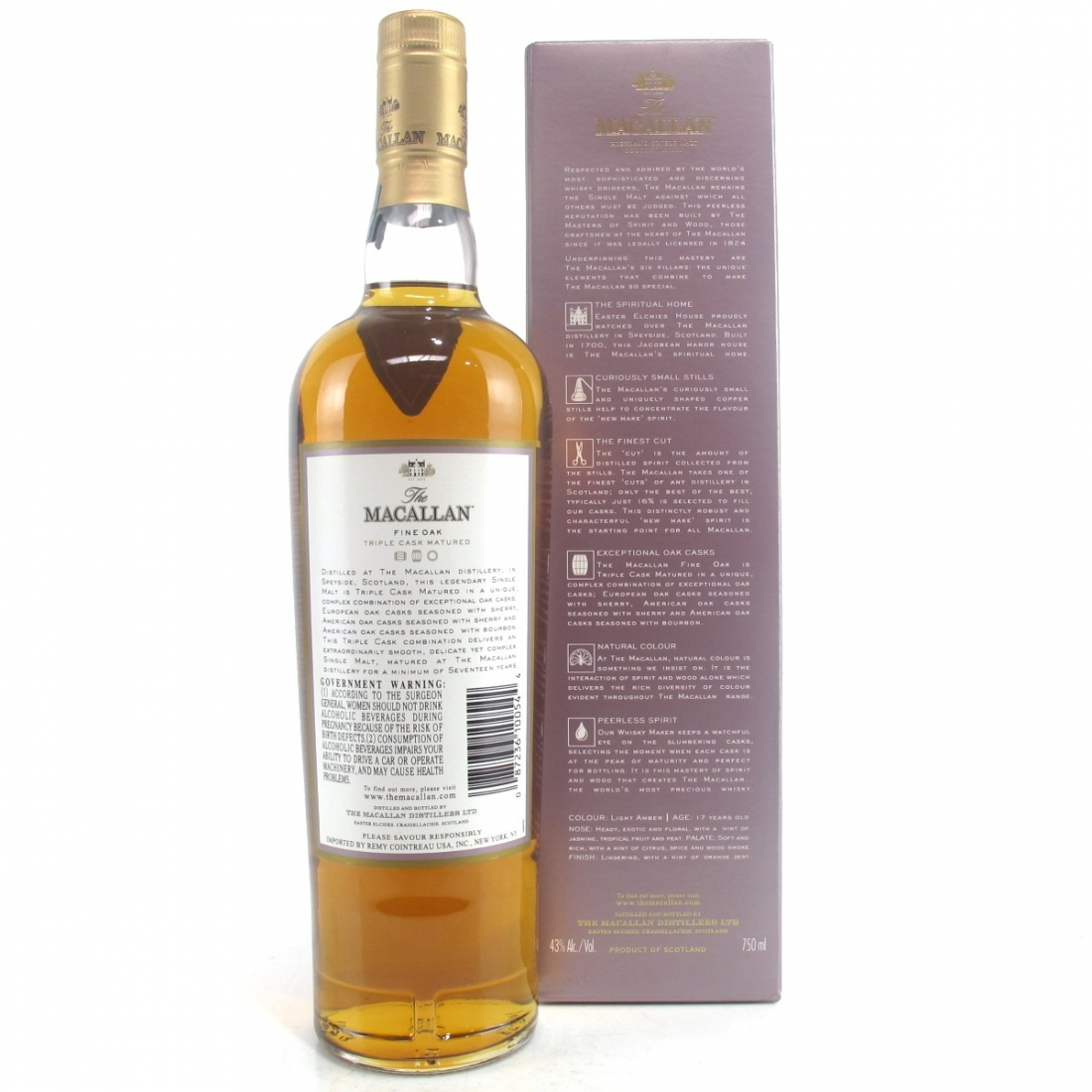 Macallan 17 Year Old Fine Oak 75cl / US Import