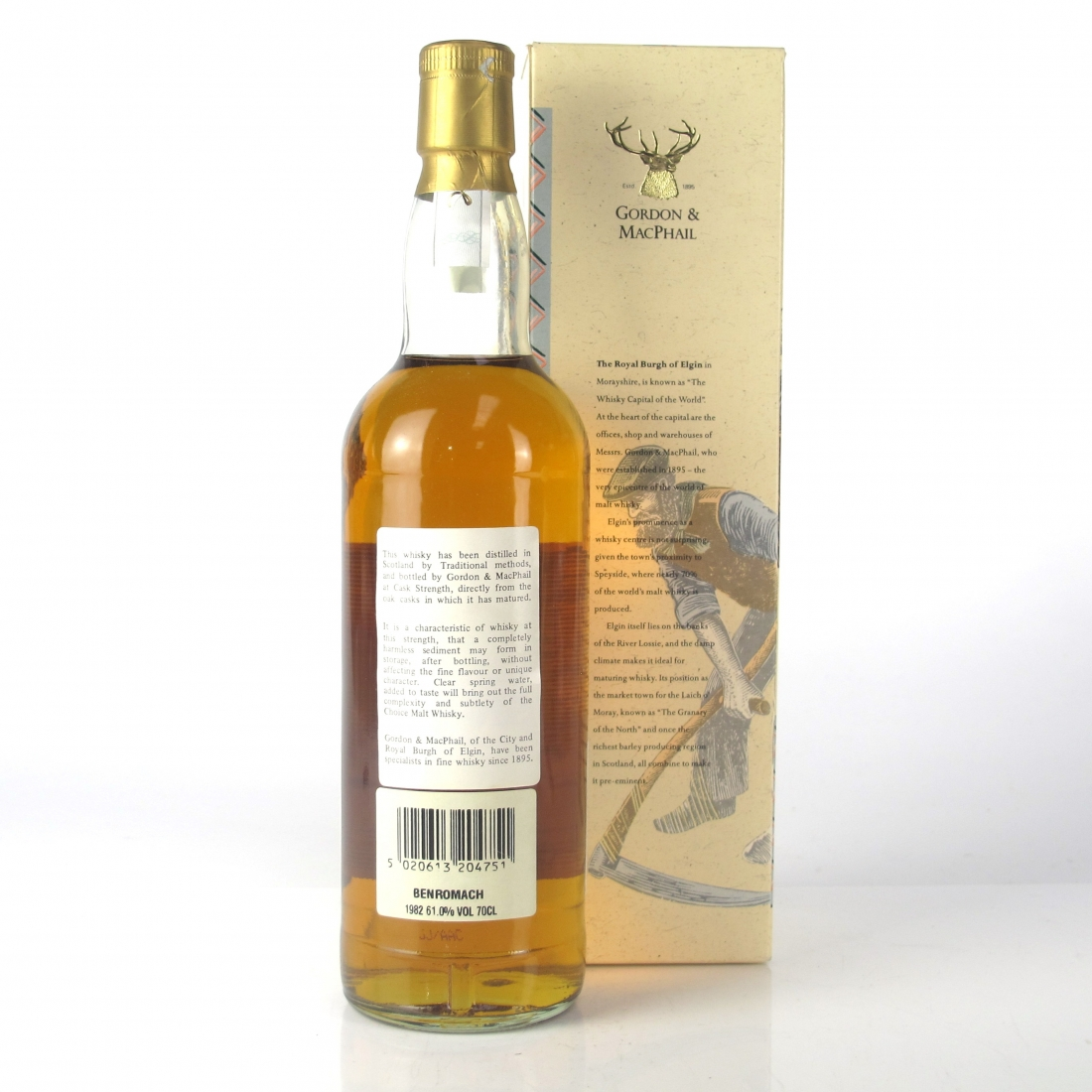 Benromach 1982 Gordon and MacPhail Cask Strength