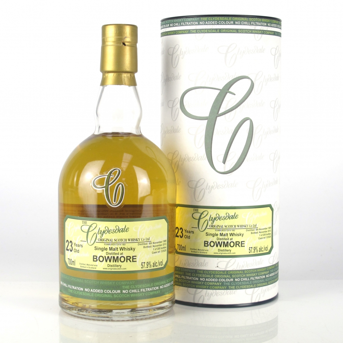 Bowmore 1989 Clydesdale 23 Year Old