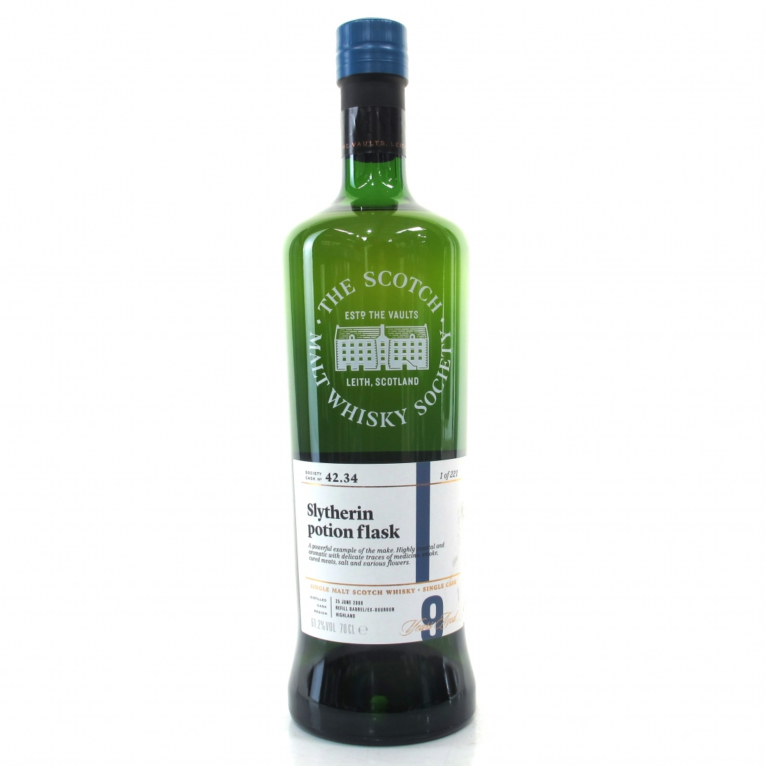 Ledaig 2008 SMWS 9 Year Old 42.34