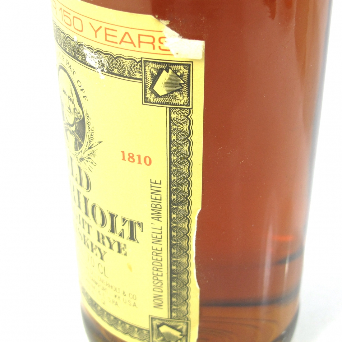 Old Overholt Straight Rye Whiskey 1990s