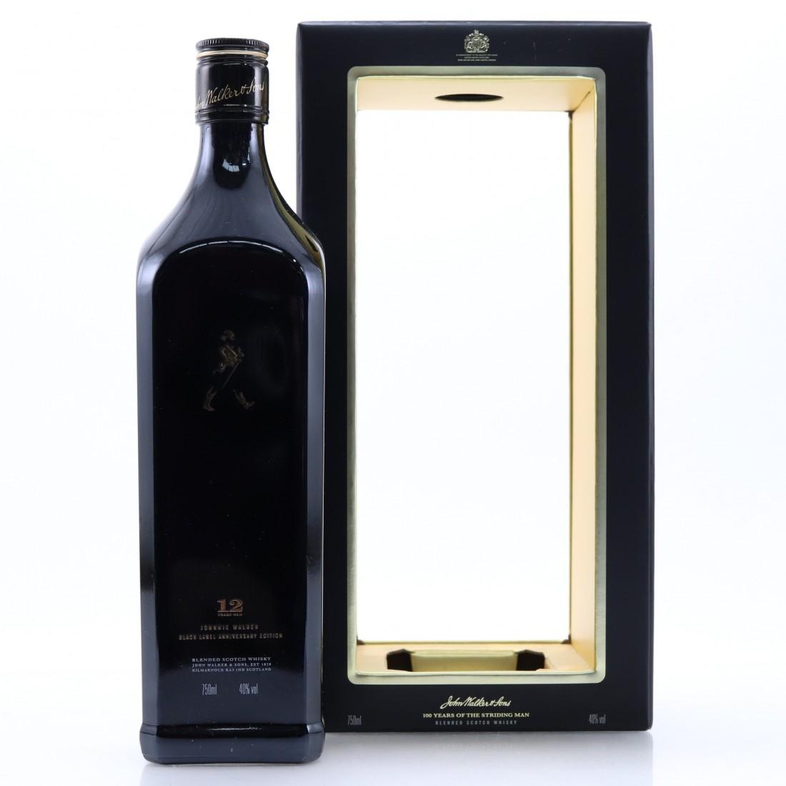 Johnnie Walker Black Label 12 Year Old Anniversary Edition