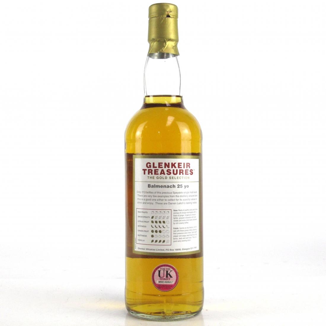 Balmenach 25 Year Old Glenkeir Treasures / Whisky Shop Exclusive