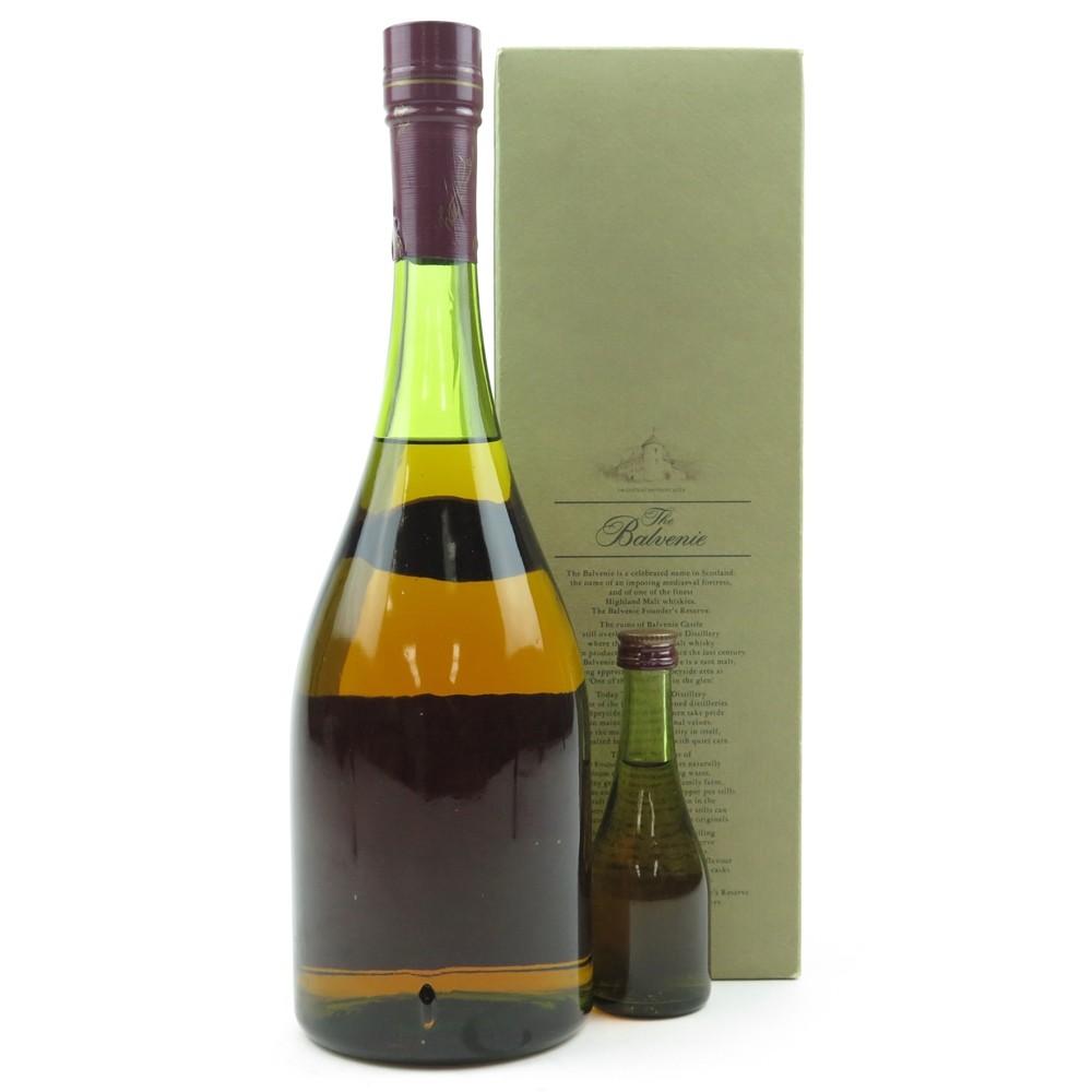 Balvenie Founder's Reserve Cognac Bottle / Including Miniature