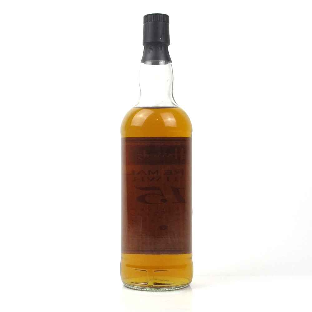 Harrods 15 Year Old Pure Malt 1980s