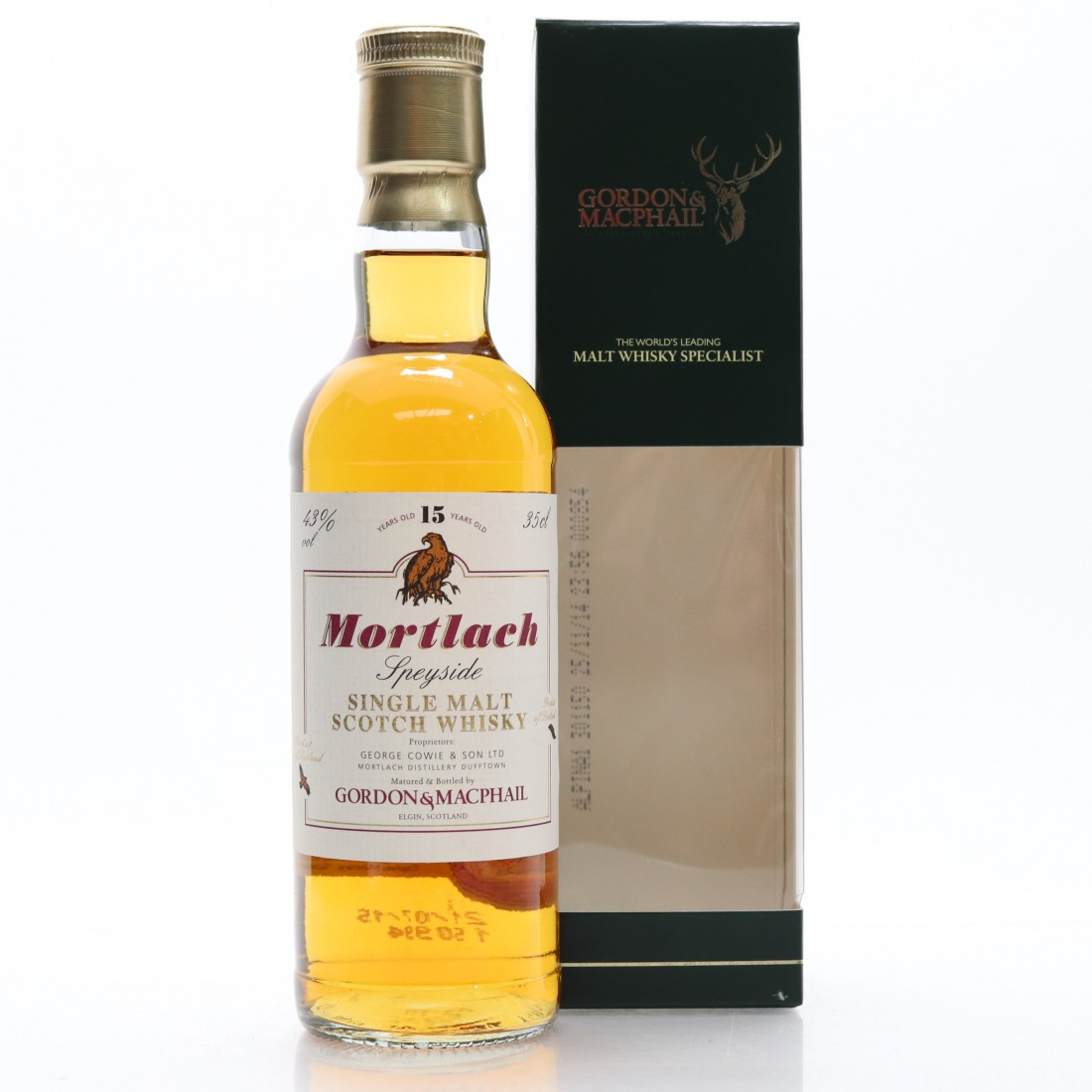 Mortlach 15 Year Old Gordon and MacPhail 35cl