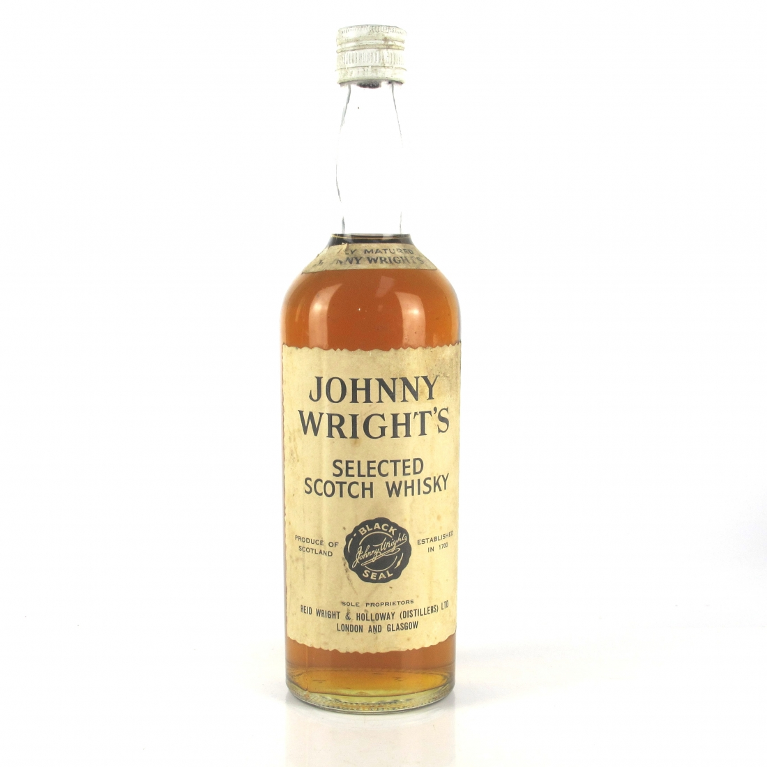 Johnny Wright's Selected Scotch Whisky 1960s