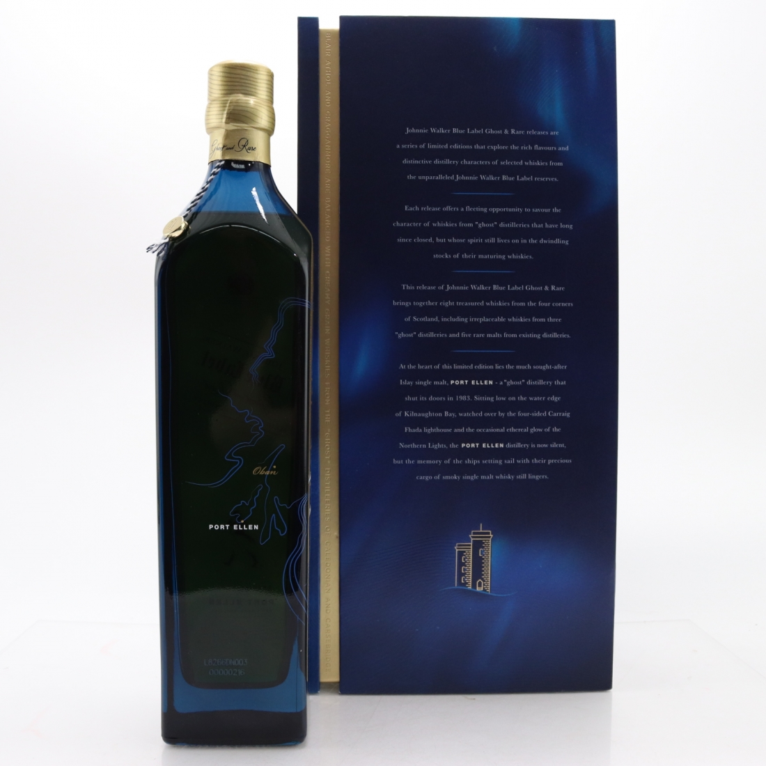 Johnnie Walker Blue Label Ghost and Rare 75cl 2nd Edition​ / Port Ellen