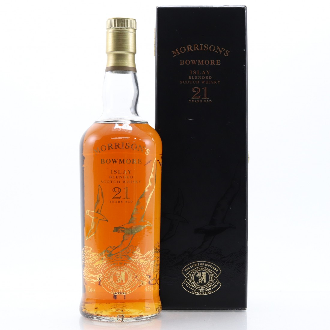 Morrison's Bowmore 21 Year Old 500th Anniversary Blend