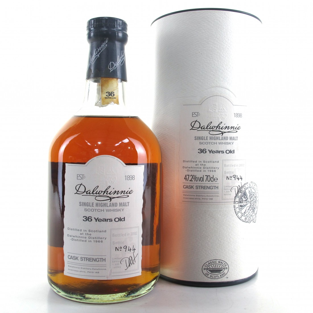 Dalwhinnie 1966 Cask Strength 36 Year Old