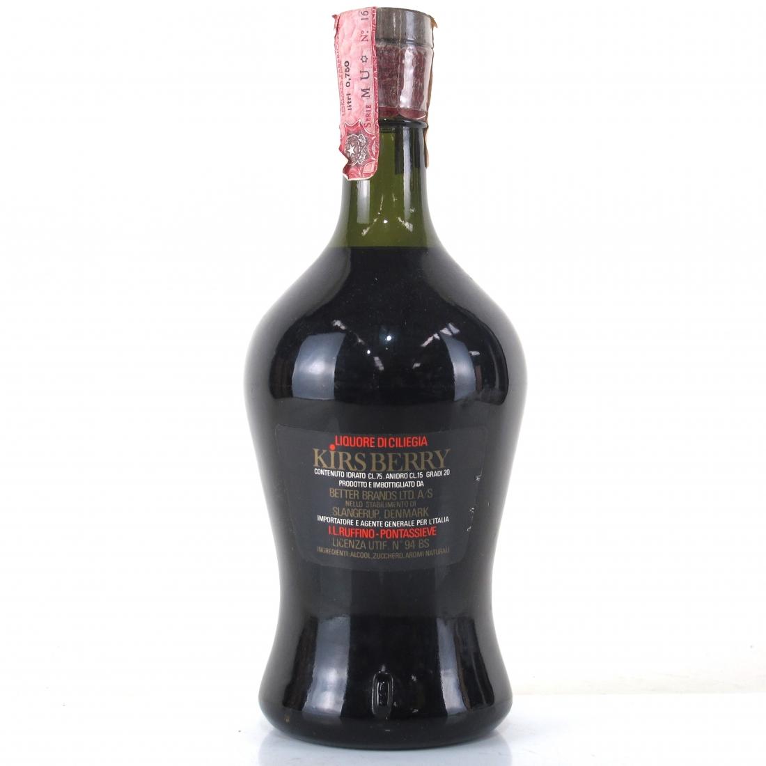 Kirsberry Liqueur 1980s