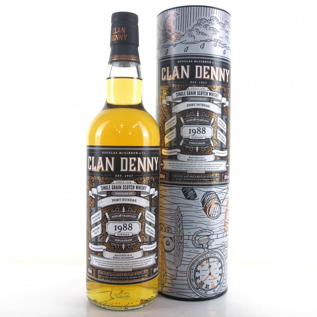 Port Dundas 1988 Clan Denny 28 Year Old