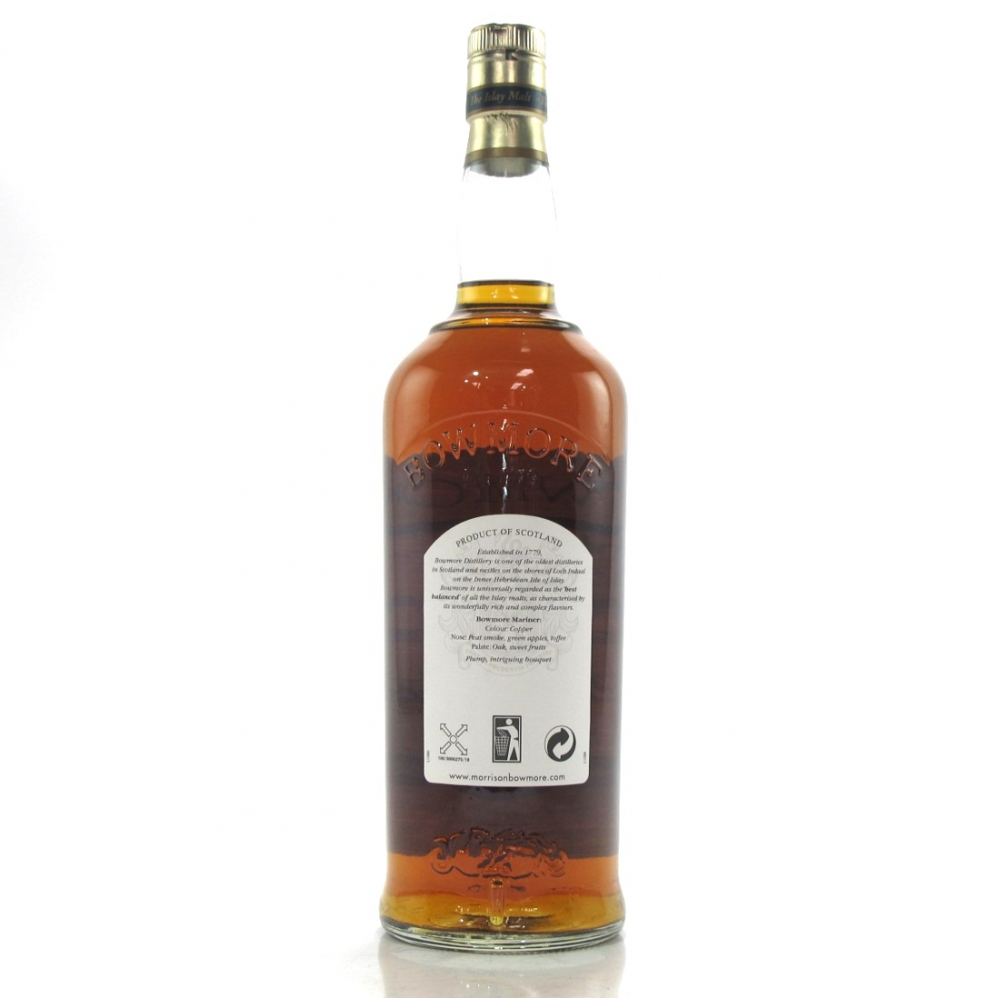 Bowmore 15 Year Old Mariner 1 Litre