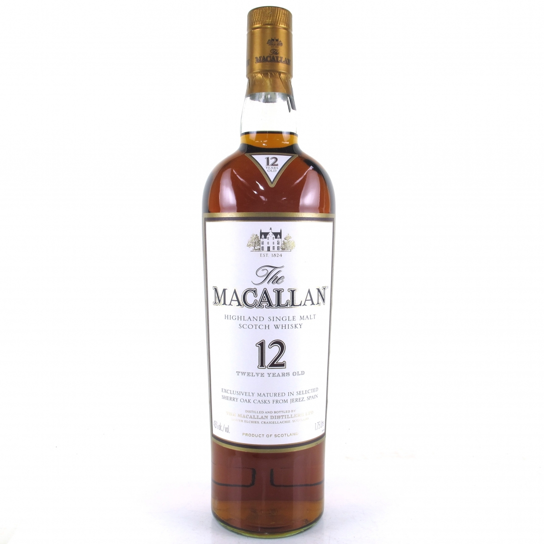 Macallan 12 Year Old 1.75 Litre / US Import