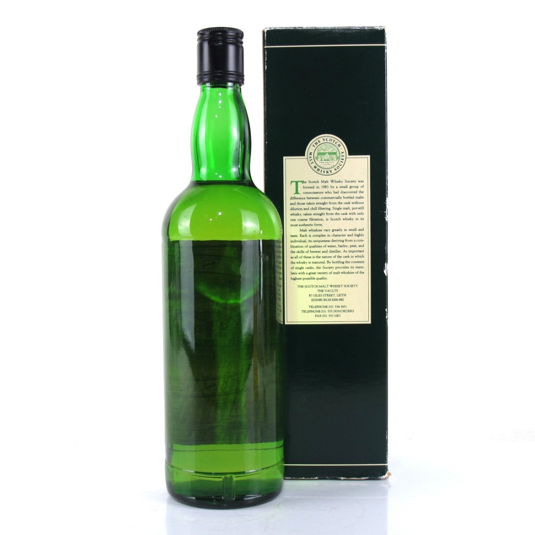 Millburn 1979 SMWS 13 Year Old 87.2