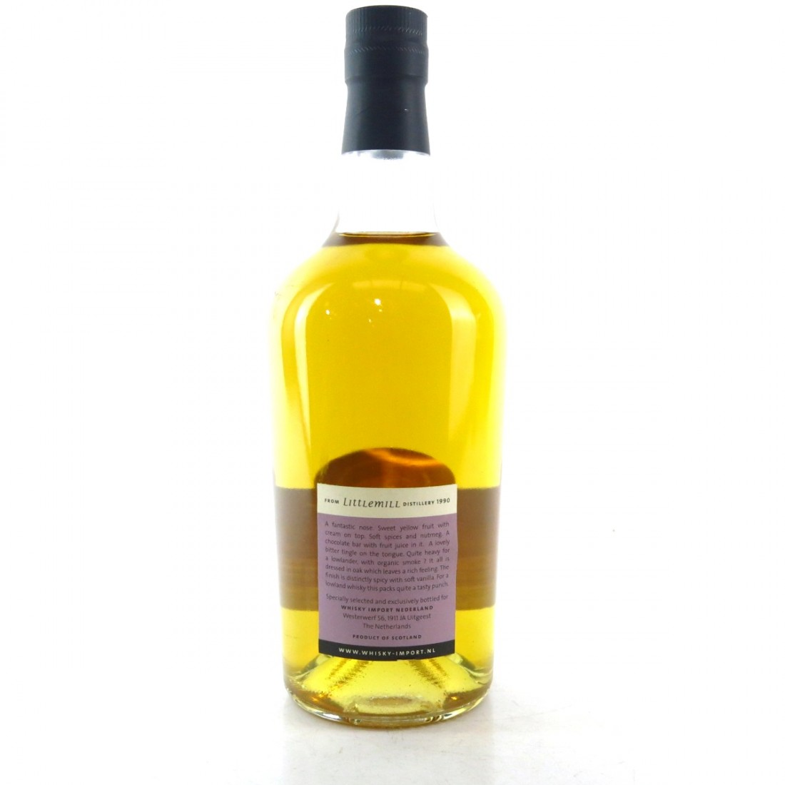 Littlemill 1990 Whisky Import NL 20 Year Old