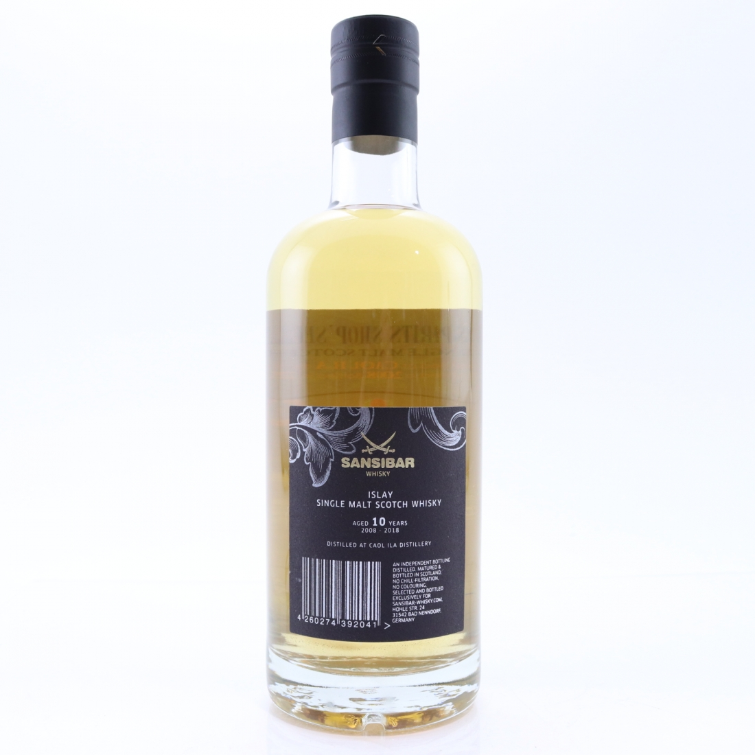 Caol Ila 2008 Sansibar 10 Year Old / Spirts Shop' Selection