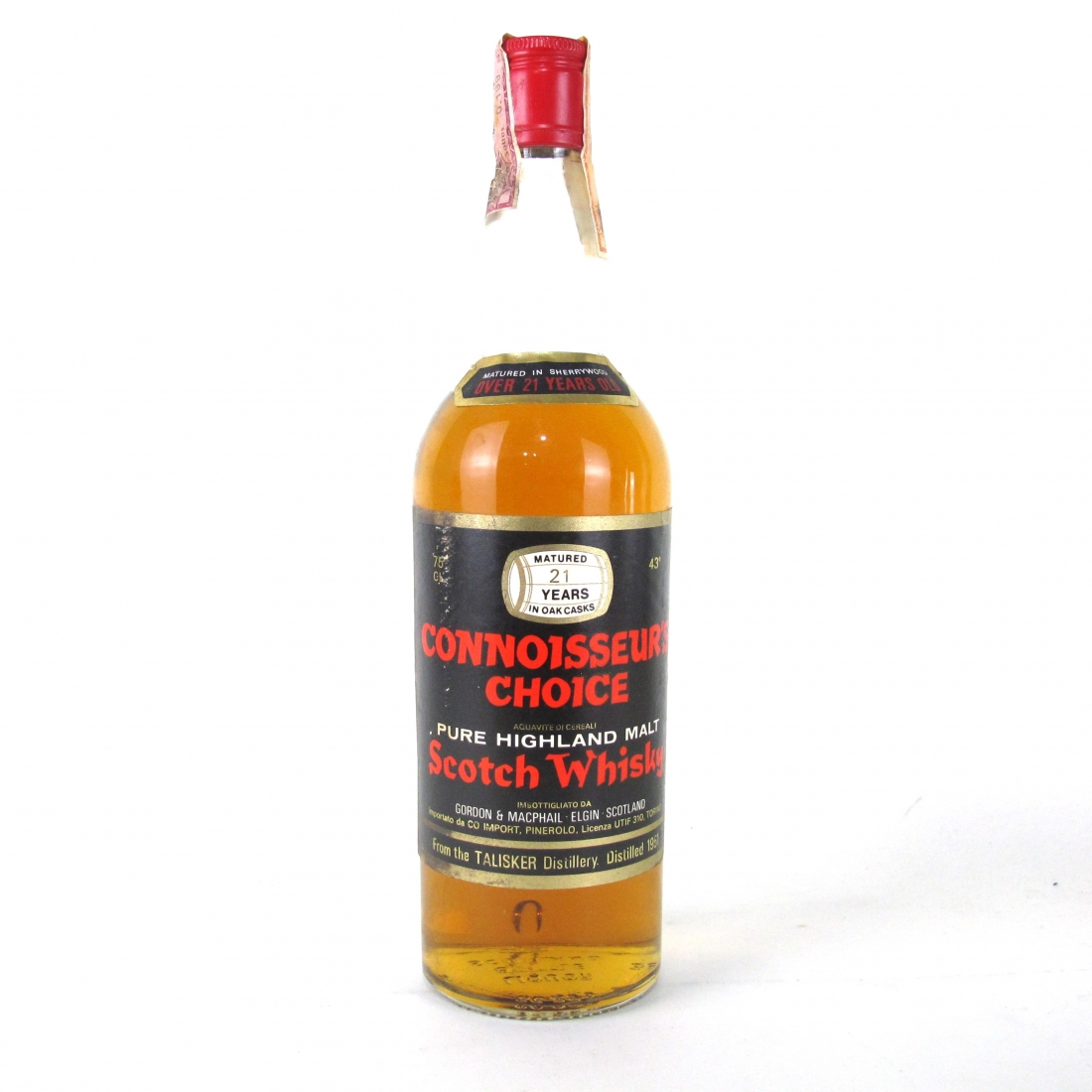 Talisker 1951 Gordon and MacPhail 21 Year Old