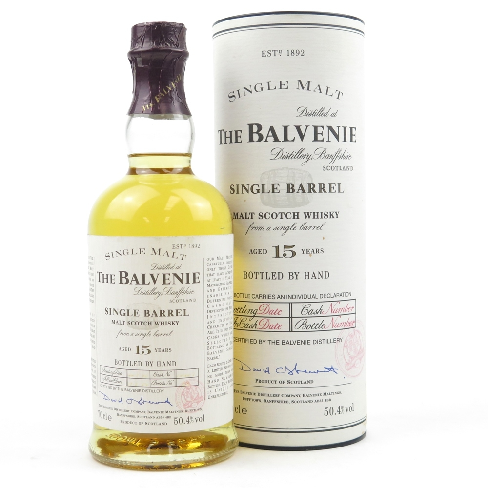 *FOR JOE DETAILS NEED TO BE ADDED Balvenie 1991 15 Year Old Single Barrel