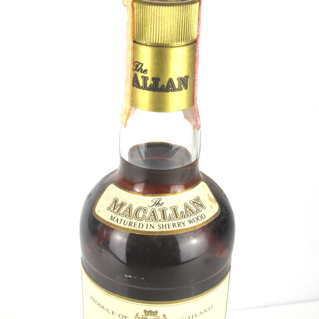 Macallan 8 Year Old 1980s / Giovinetti Import