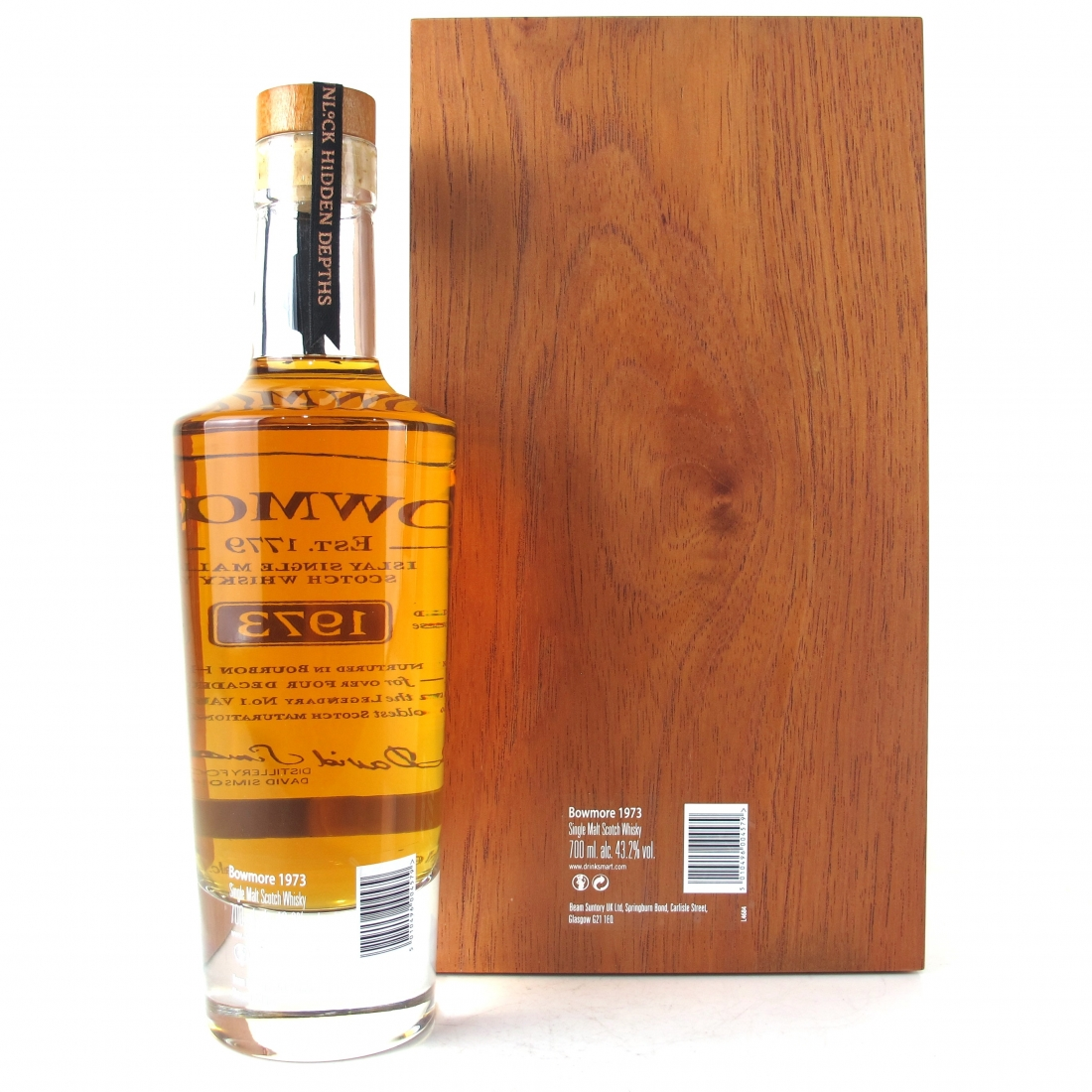 Bowmore 1973 43 Year Old