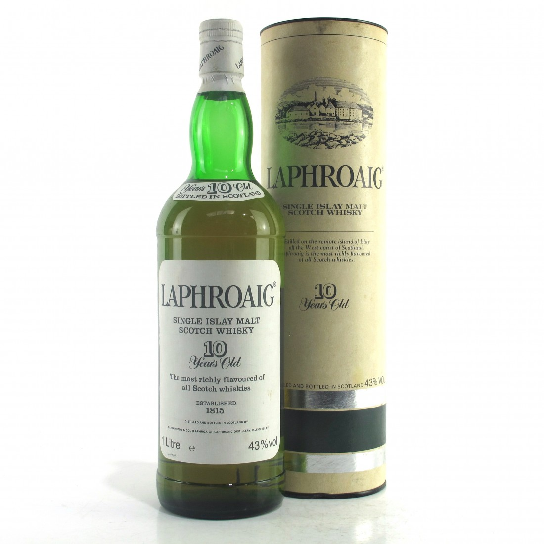 Laphroiag 10 Year Old 1 Litre 1980s