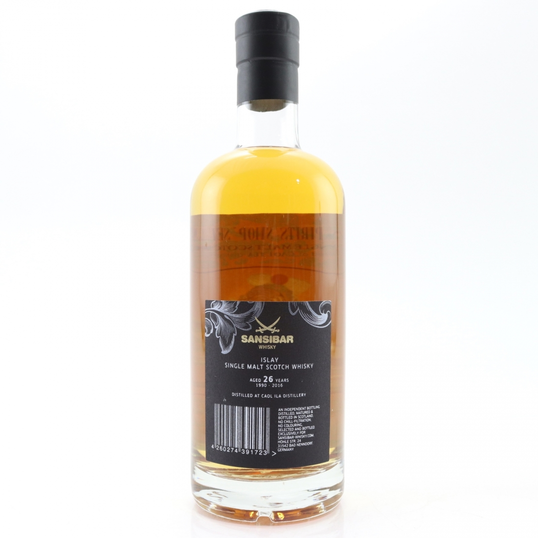 Caol Ila 1990 Sansibar 26 Year Old / Spirts Shop' Selection