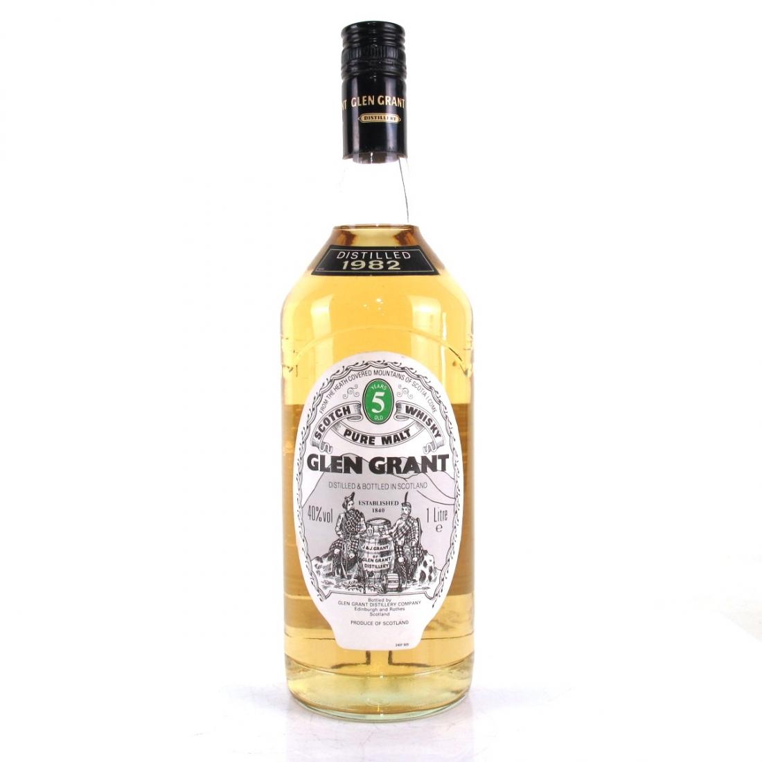 Glen Grant 1982 5 Year Old 1 Litre