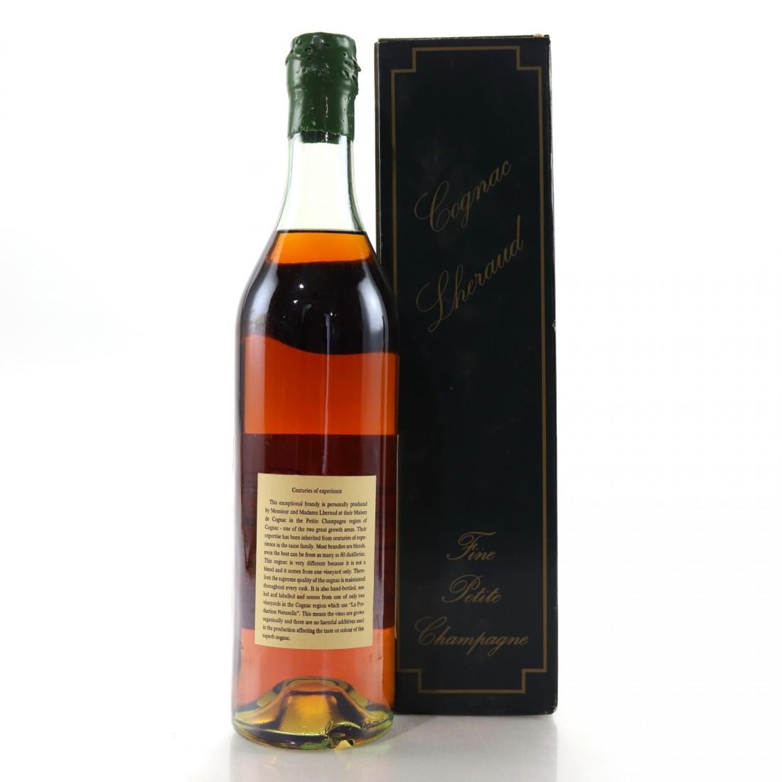 Cognac Lheraud Fine Petit Champagne Reserve du Templier