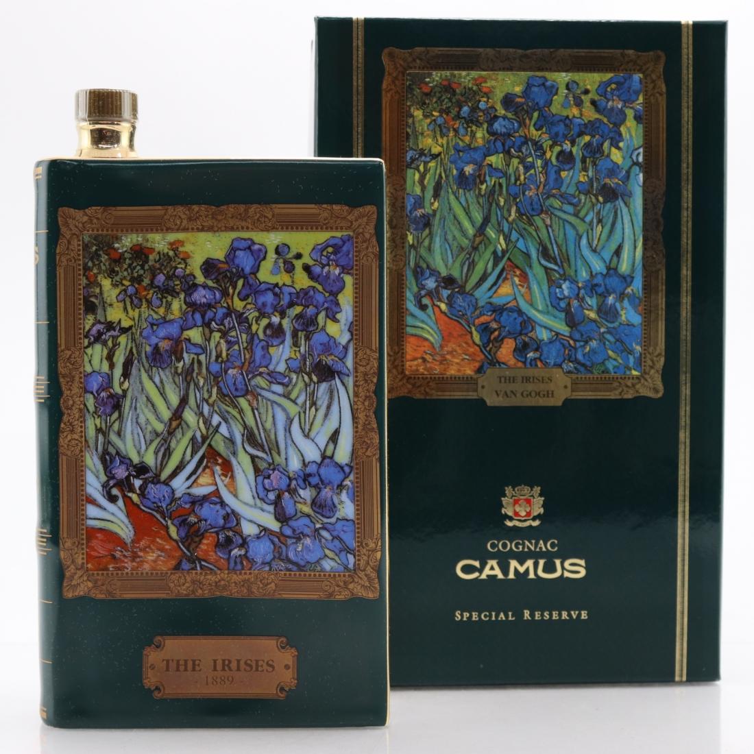 Camus Special Reserve / Van Gogh The Irises Decanter