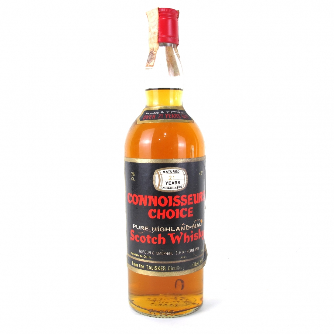 Talisker 1951 Gordon and MacPhail 21 Year Old / Pinerolo