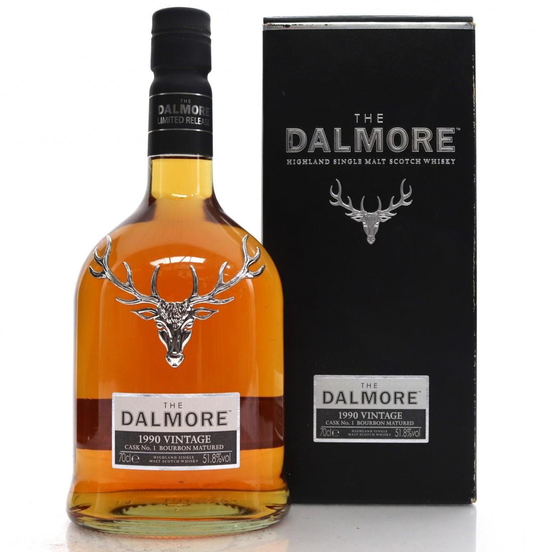 Dalmore 1990 Vintage Cask No.1 Bourbon Matured