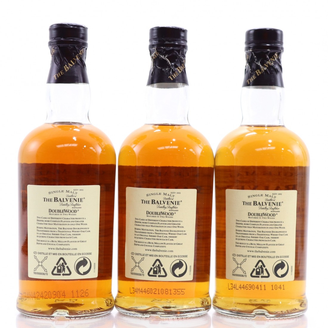 Balvenie 12 Year Old Double Wood 3 x 20cl