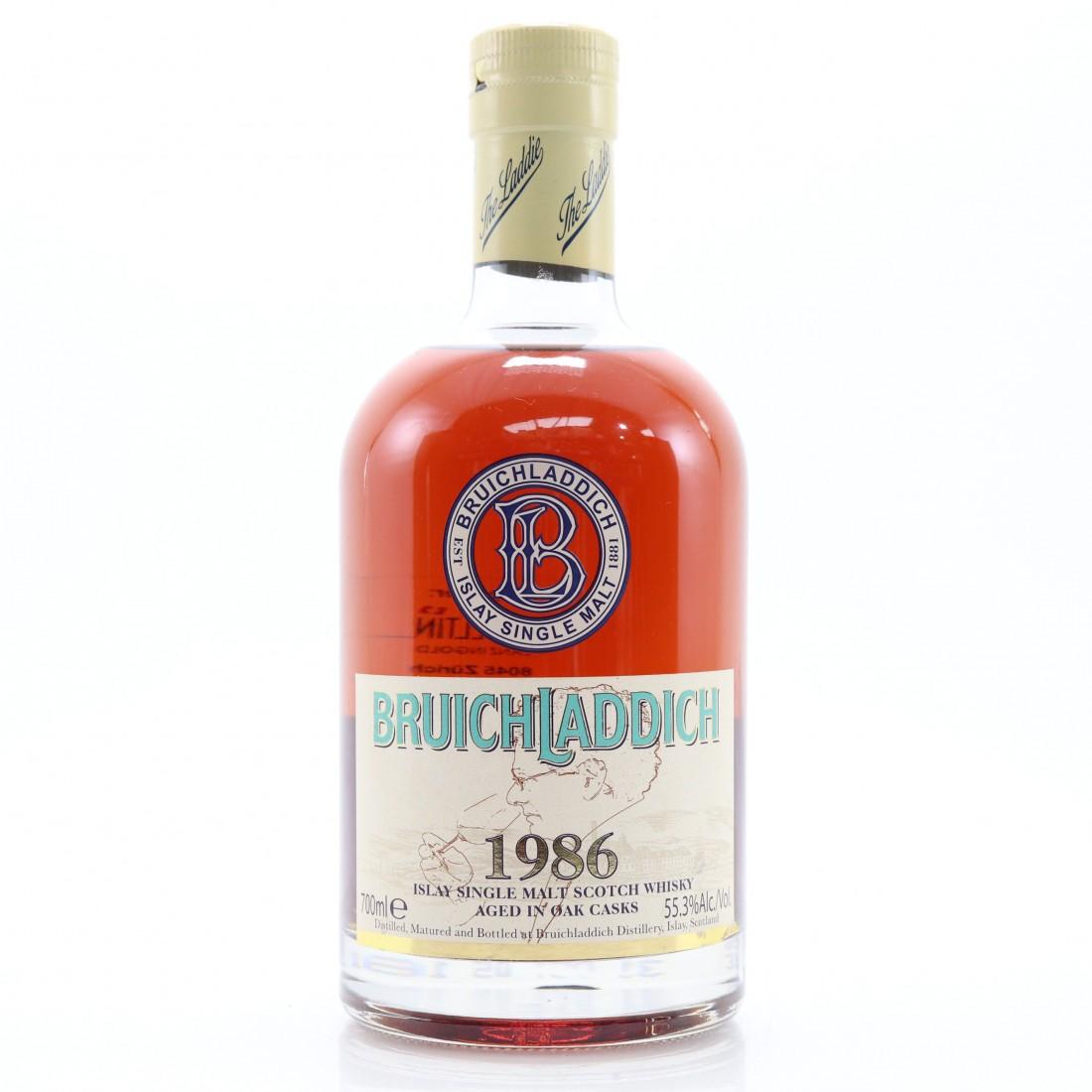 Bruichladdich 1986 Single Cask #539 / Sherry Butt