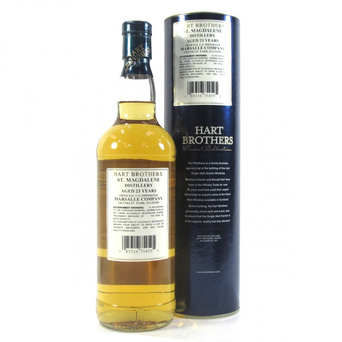St Magdalene 1982 Hart Brothers 23 Year Old 75cl / US Import