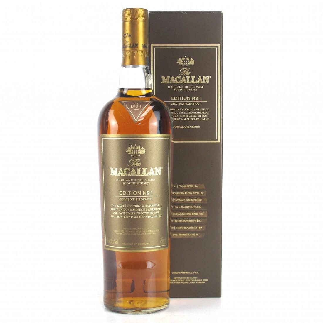 Macallan Edition No.1 75cl / US Import