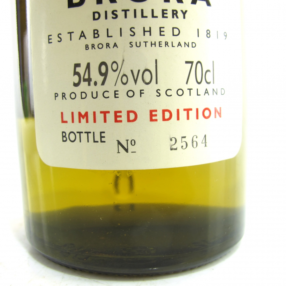 Brora 1975 Rare Malt 20 Year Old / 54.9%