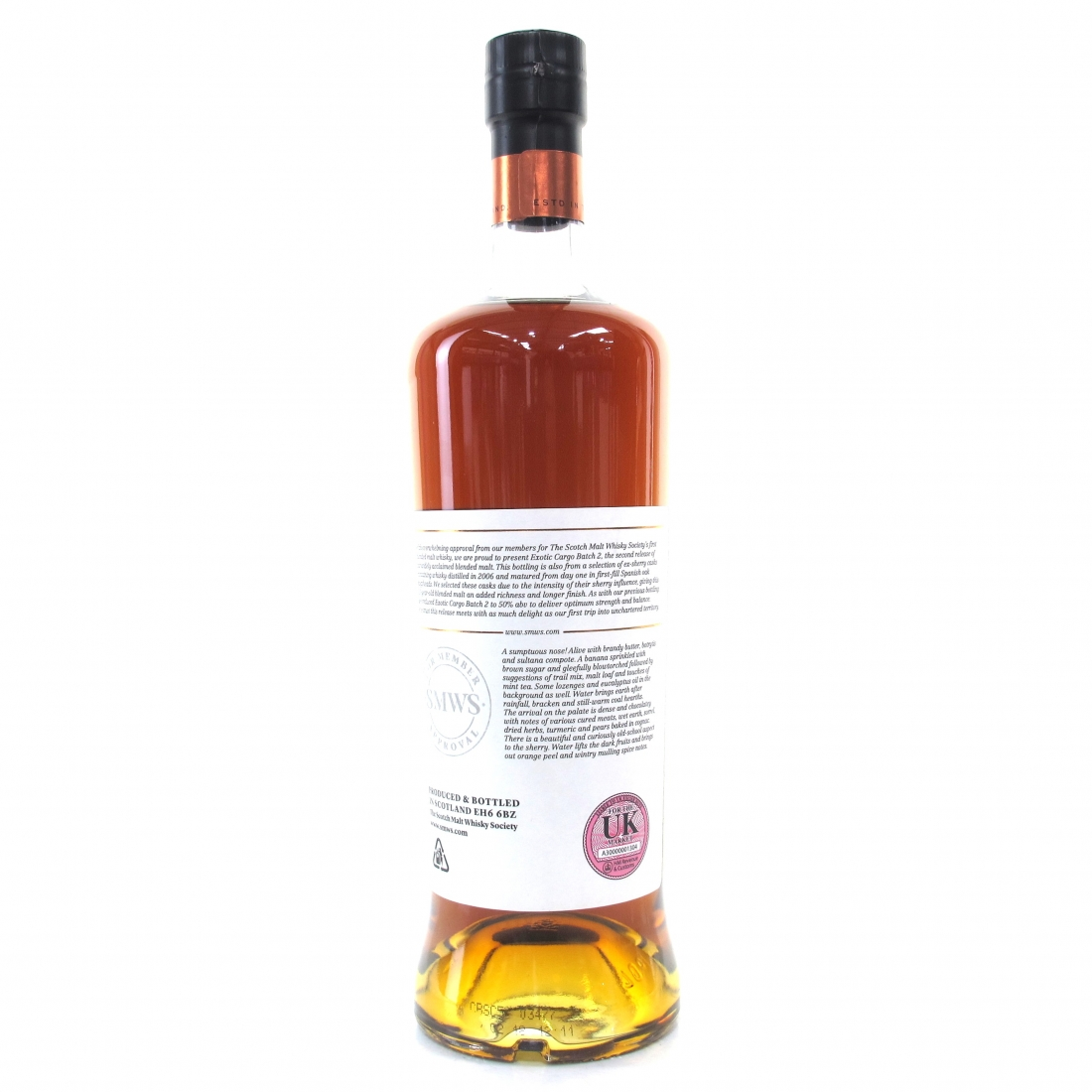 Exotic Cargo 2006 SMWS 11 Year Old Blended Batch 02