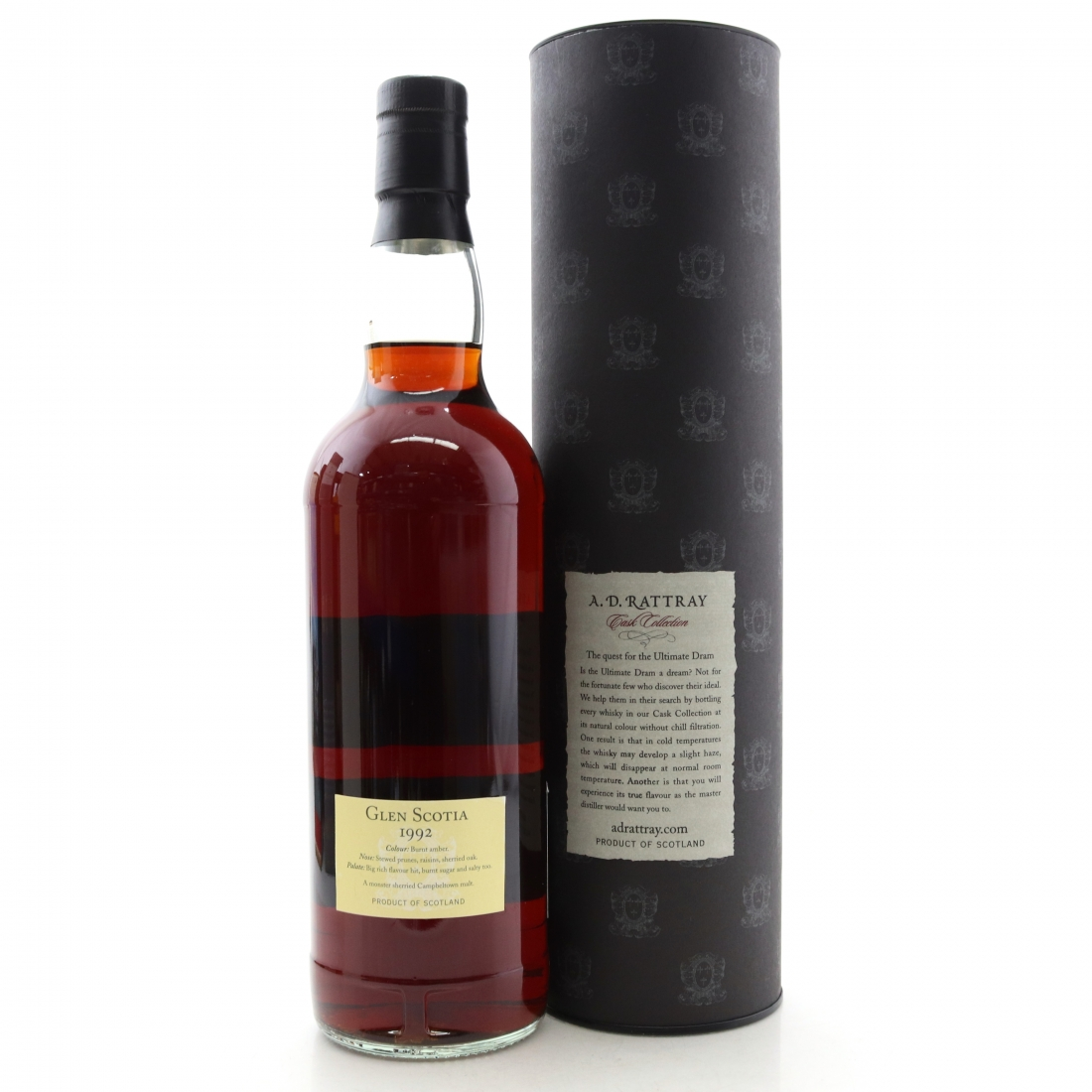 Glen Scotia 1992 A.D. Rattray 19 Year Old