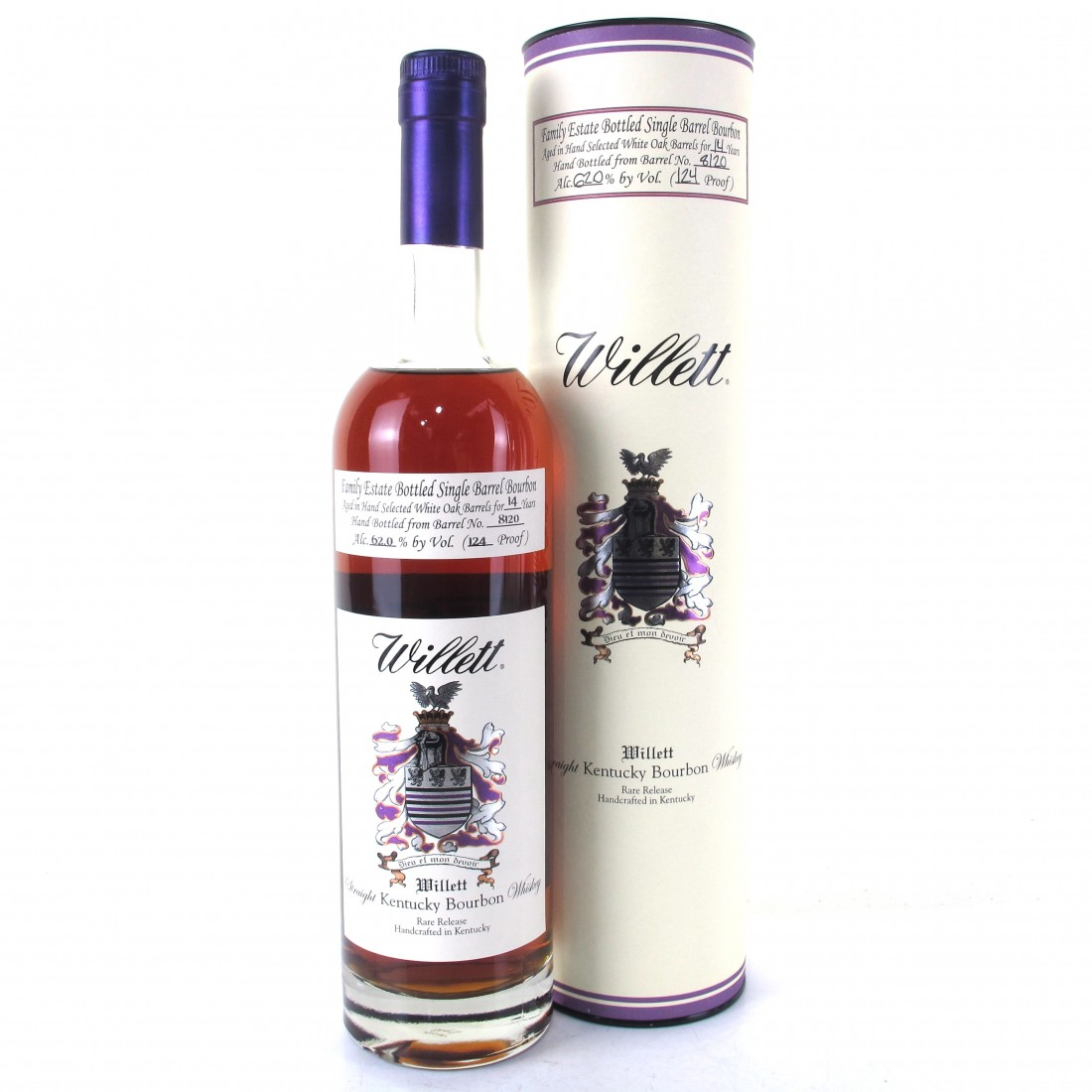 Willett Family Estate 14 Year Old Single Barrel Bourbon #8120